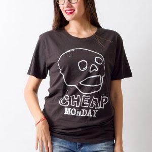 Tricou Cheap Monday Skull - FEMEI - TRICOURI DE DAMA