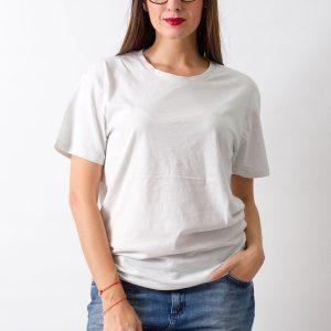 Tricou Cheap Monday alb-vernil - FEMEI - TRICOURI DE DAMA