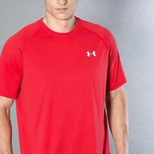 Under Armour - Tricou Ua Tech SS Tee-Red Wht - Îmbrăcăminte - Tricouri